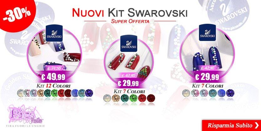 Acquista e Risparmia Subito con i Nuovi Kit Unghie Swarovski al - 30%
