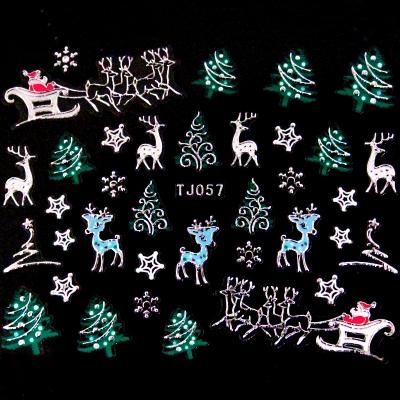 Adesivi Unghie Natale 10
