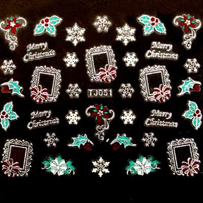 Adesivi Unghie Natale 15