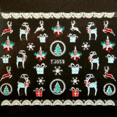 Adesivi Unghie Natale 16