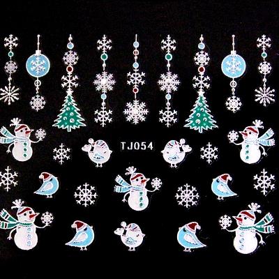 Adesivi Unghie Natale 6