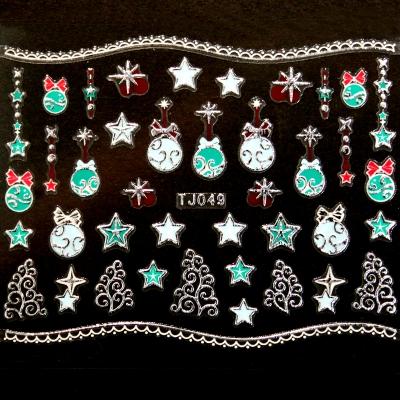 Adesivi Unghie Natale 9