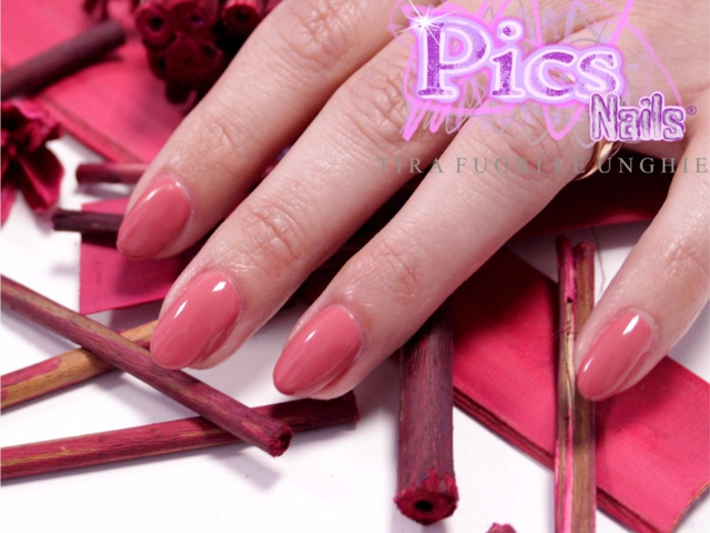 All In One Gel Nail Polish Rose Coloured Terracotta