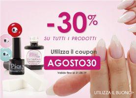 Sfrutta Subito il Codice COUPON -30% valido su Tantissimi Prodotti !!
