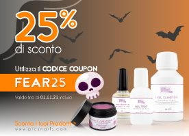 25% di Sconto! Sfrutta Ora il COUPON FEAR25 >>