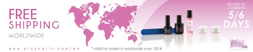 Pics Nails Free Shipping Worldwide valid for order over 100€
