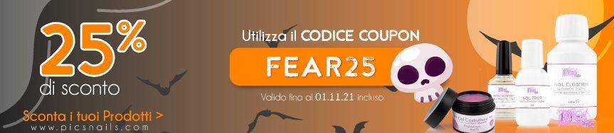 Promo Halloween! Sfrutta il Codice Coupon 25% >>