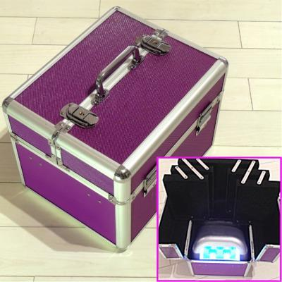 Beauty Case Professionale Viola