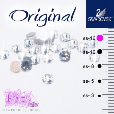 Brillantini Unghie Crystal SS-16 3,8mm