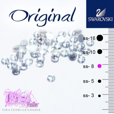 Brillantini Unghie Crystal SS-8 2,3mm