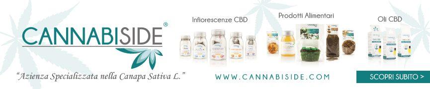 Scopri Cannabiside!! Azienda Made in Italy Specializzata nella Canapa Sativa L.