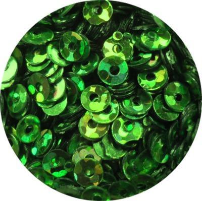 Cerchi Forati Verde Olografic