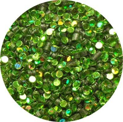 Cerchietti Verde Chiaro Olografic