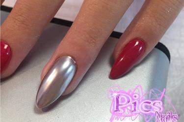 New Chrome Nail Powder How To Use It Pics Nails