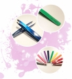 Colored Eyebrow Tweezers