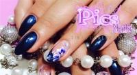 colori acrilici e micro decorazione unghie
