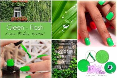 Colori Moda Unghie Green Flash