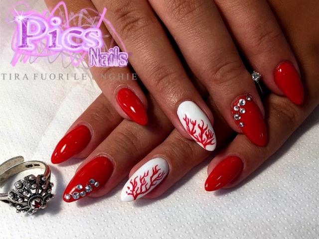 Coral Nail Art - Coral Nail Art Pics Nails