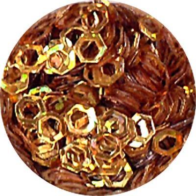 Esagoni Forati Oro Olografic