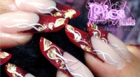 estensione unghie natale pics nails