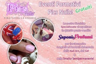 eventi formativi gratuiti pics nails saponi e profumi