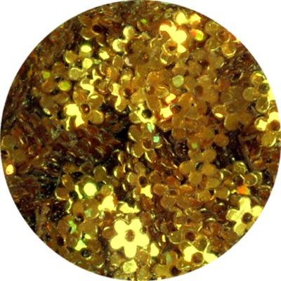 Fiori con Foro Oro Olografic