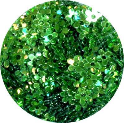 Fiori con Foro Verde Olografic