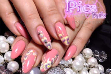 fiori nail art pics nails