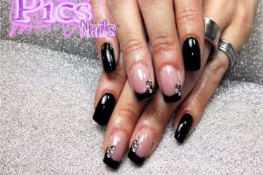 Forma delle unghie quali sono come scegliere la migliore for Immagini con i brillantini