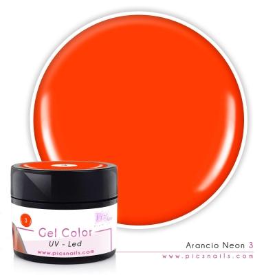 Gel Color Arancio Neon 3 - Premium Quality