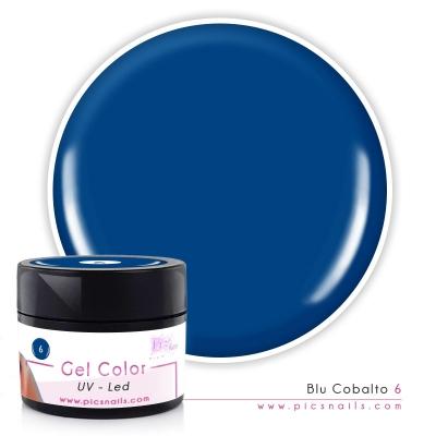 Gel Color Blu Cobalto 6 - Premium Quality