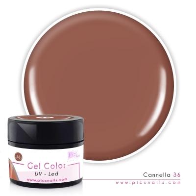 Gel Color Cannella Laccato 36 - Premium Quality