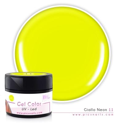 Gel Color Giallo Neon 11 - Premium Quality