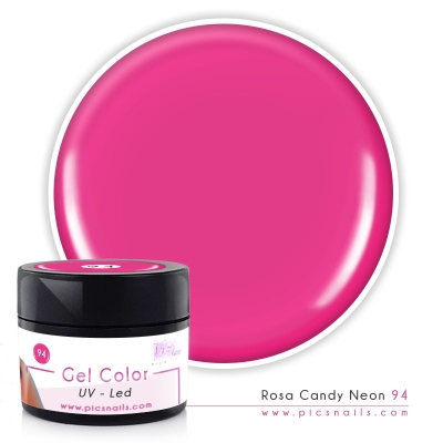 Gel Color Rosa Candy Neon 94 - Premium Quality