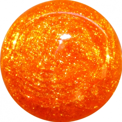 Gel Glitter Arancio Neon 168
