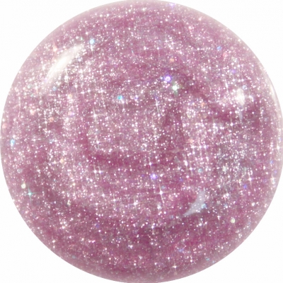 Gel Glitter Lilla Rosa 177