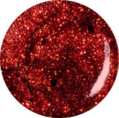 Gel Glitter Rosso Scuro