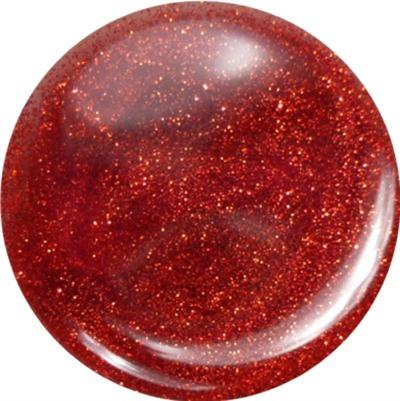 Gel Glitter Rosso Trasparente
