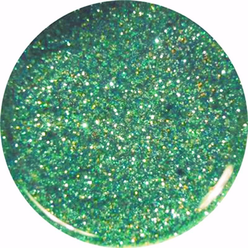 Gel Glitter Verde Argento 61