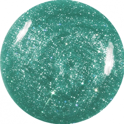 Gel Glitter Verde Giada 176