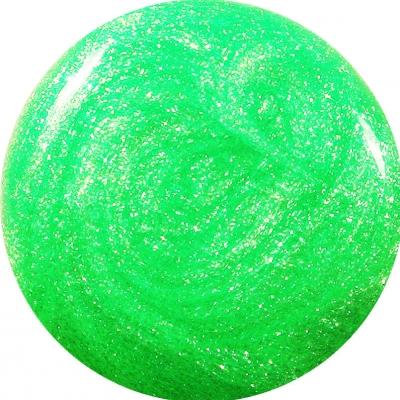 Gel Glitter Verde Neon 174
