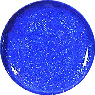 Gel Metal Azzurro Glitter 136