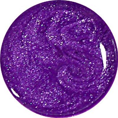 Gel Metal Viola Glitter 134