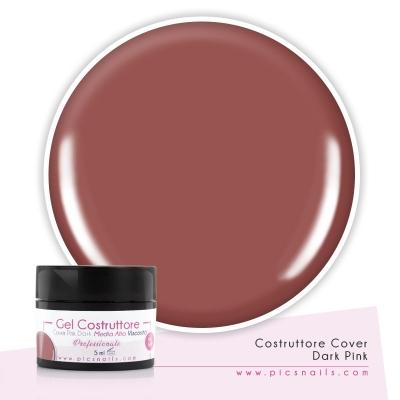 Gel Unghie Costruttore Cover A.V. Dark Pink 5 ml