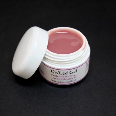 Gel Unghie Costruttore Dark Pink A.V. 5 ml