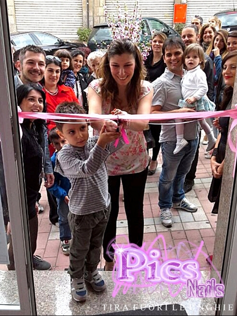 Inaugurazione Pics Nails a Guspini