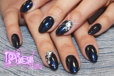 22e01df69bf Nail Gems, Jewelry Nails...maybe you already head these terms, and here  they are: Jewel Nails realised with the aid of Swarovski Nails Rhinestones!