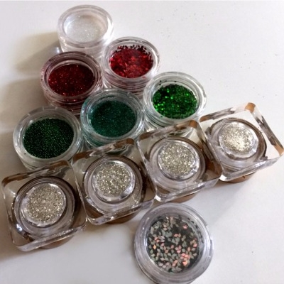 Kit Nail Art Natale 11 Decori