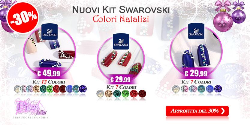 Kit Unghie Swarvoski Pics Nails -30%