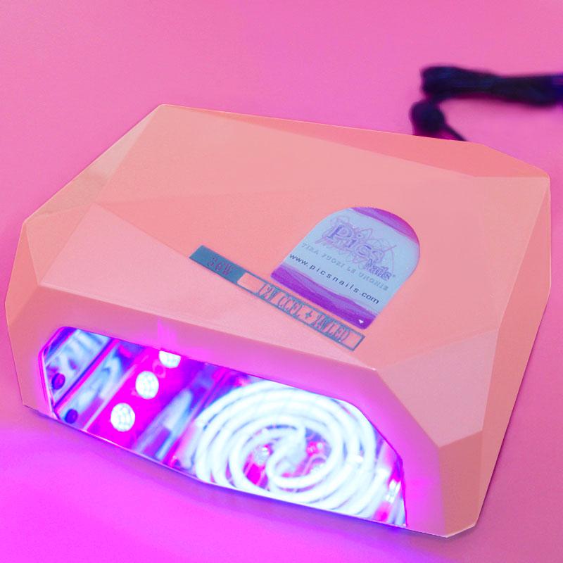 Lampada Led Unghie CCFL 36 Watt Rosa